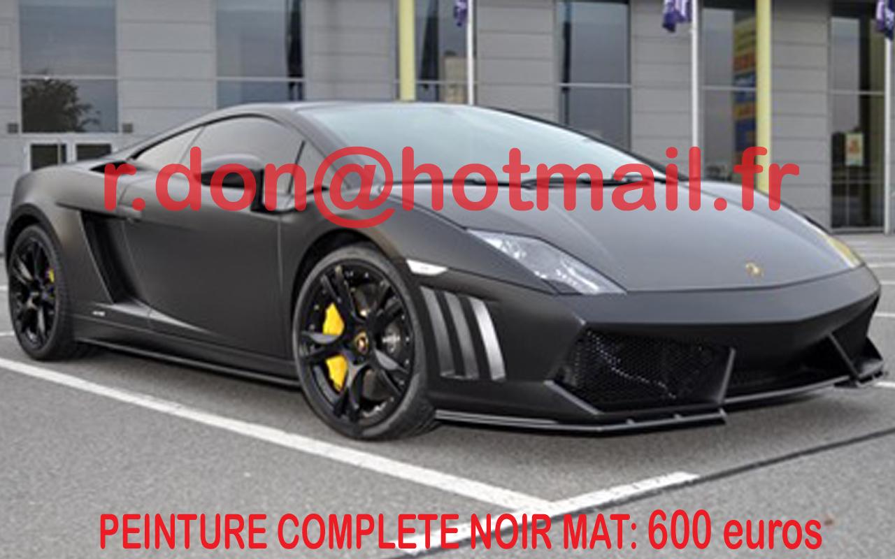 Lamborghini Gallardo Noir Mat Lamborghini Gallardo Noir Mat