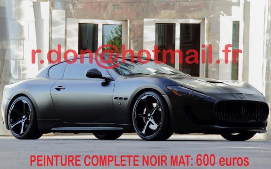 Maserati Gransport noir mat, Maserati Gransport noir mat