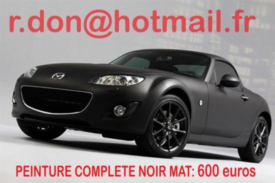 Mazda MX5 noir mat, Mazda MX5 noir mat, Mazda MX5 noir mat