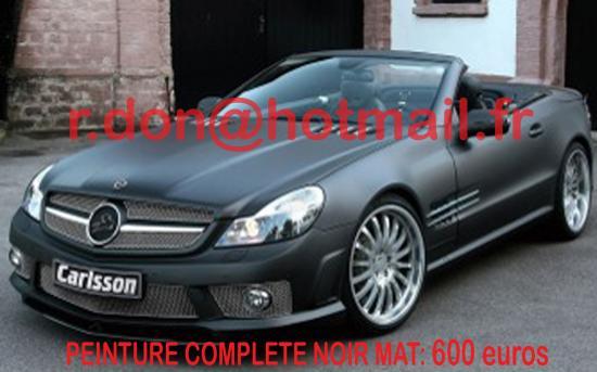 Mercedes SL noir mat, Mercedes SL noir mat, Mercedes SL noir mat
