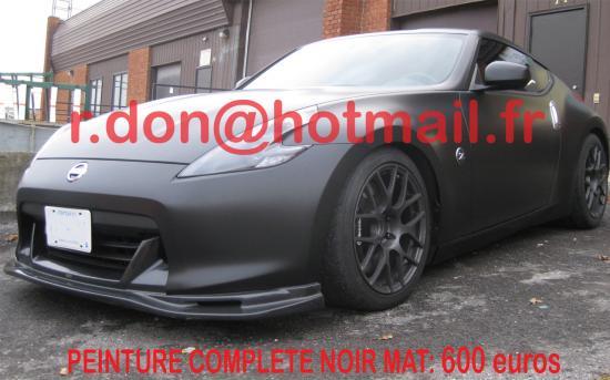 Nissan 370 Z Noir Mat Nissan 370 Z Noir Mat Nissan 370 Z Noir Mat