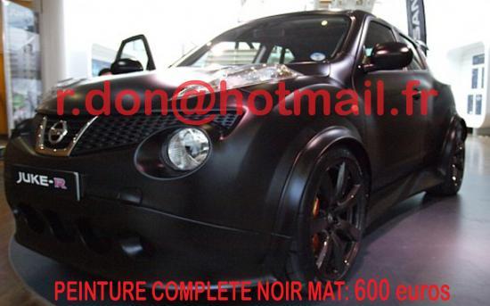 Nissan Juke noir mat, Nissan Juke noir mat, Nissan Juke noir mat