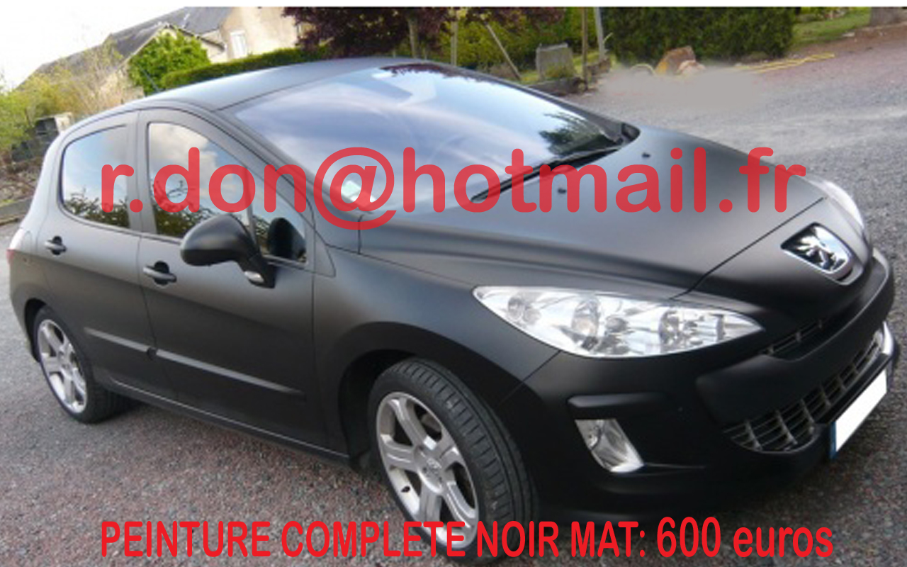 Pin peugeot 206 side cake on pinterest for Peinture sol noir mat
