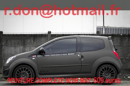 Renault noir mat, Renault noir mat, Renault noir mat