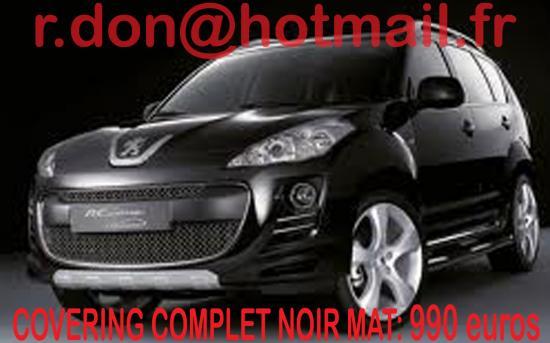 Peugeot 4007, Peugeot 4007, covering Peugeot 4007 noir mat