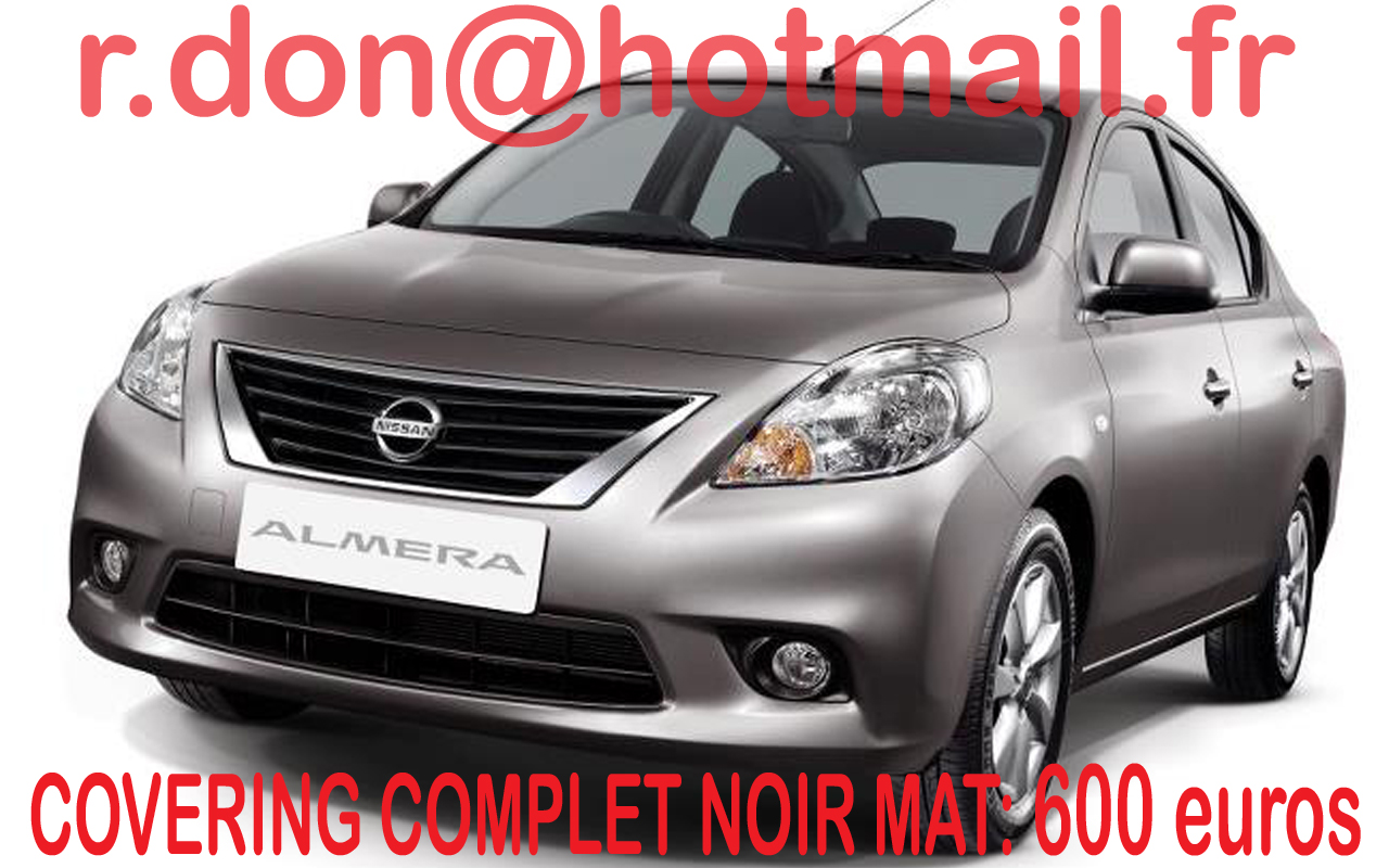 nissan almera noir mat nissan almera noir mat nissan. Black Bedroom Furniture Sets. Home Design Ideas