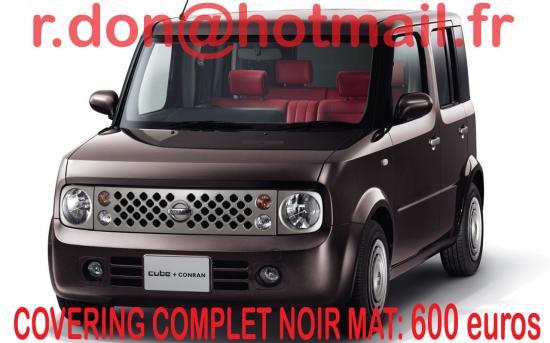 Nissan Cube noir mat, Nissan Cube noir mat, Nissan Cube noir mat