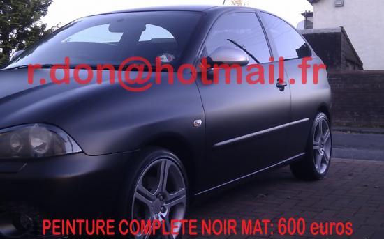 SEAT IBIZA, seat ibiza, customisation voiture, customisation voiture