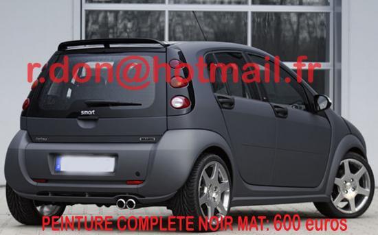 SMART-FORFOUR, personnalisation voiture, personnalisation auto