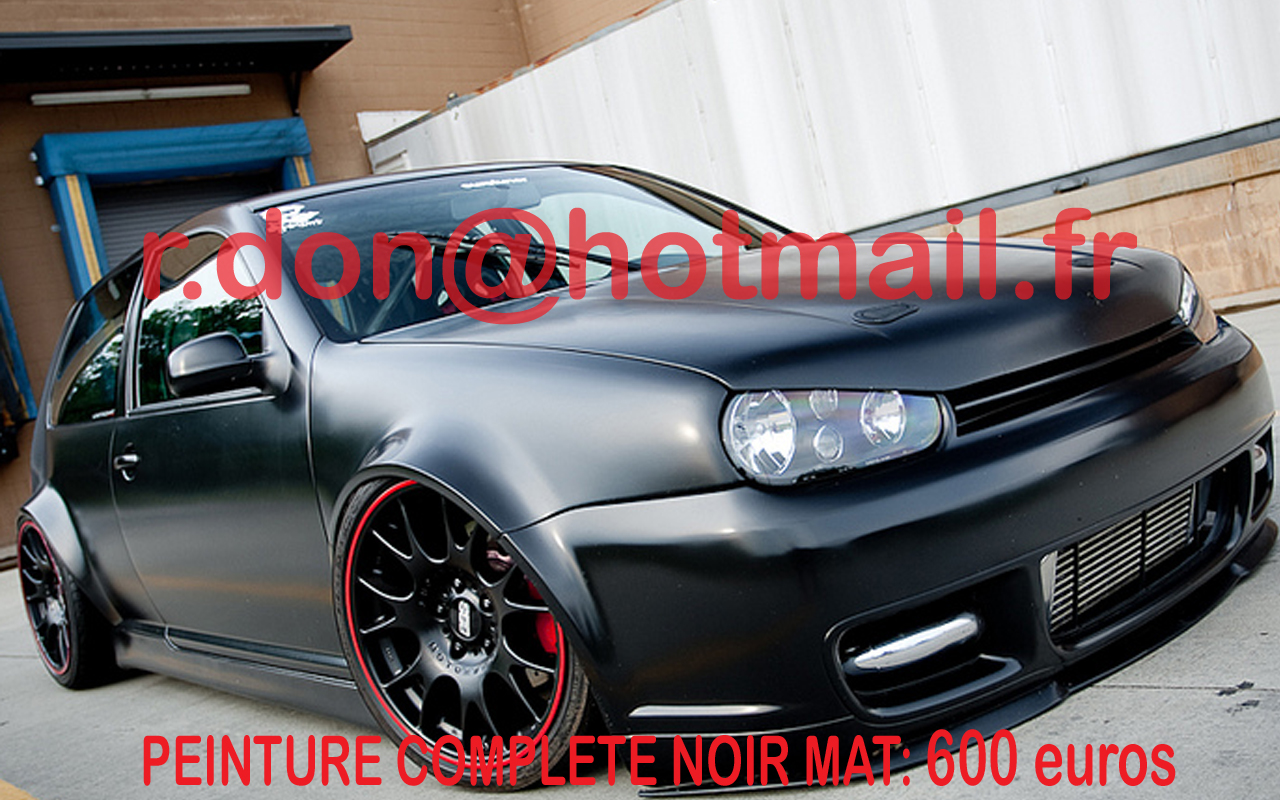 volkswagen golf covering noir mat volkswagen jantes. Black Bedroom Furniture Sets. Home Design Ideas