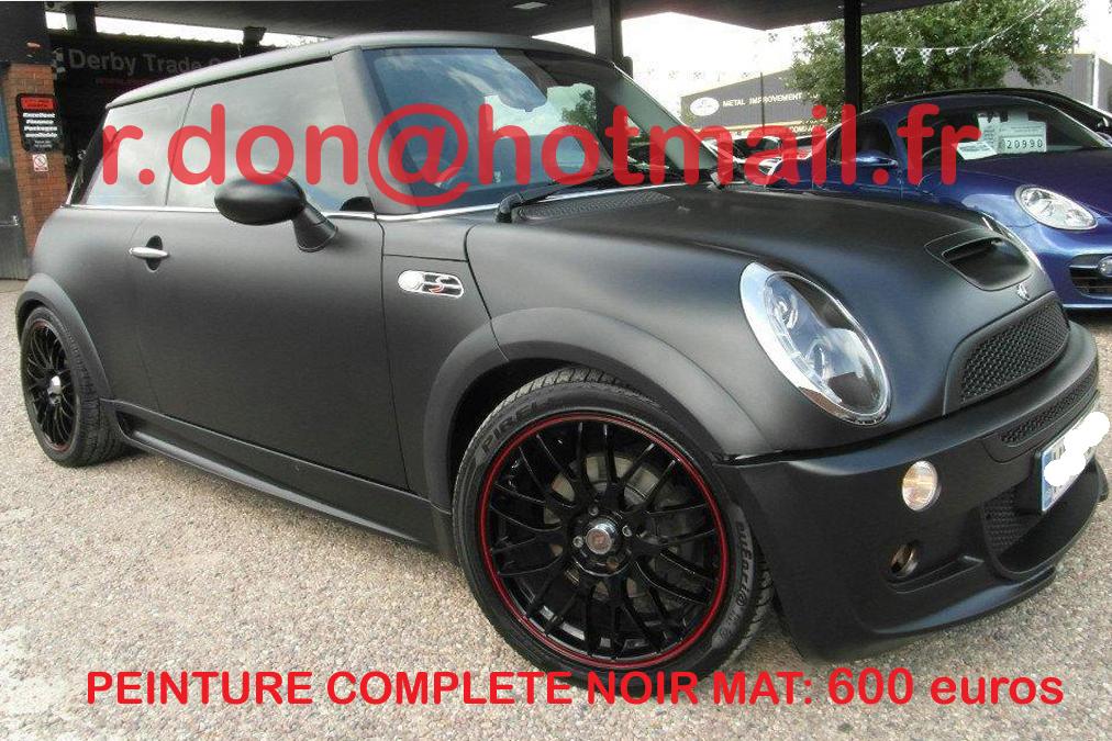 Noir mat noir mat covering noir mat peinture auto noir mat - Peinture glycero noir mat ...