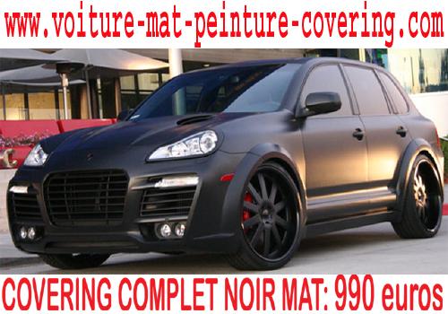Top Noir mat, covering noir mat voiture, peinture noir mat carrosserie  TF44